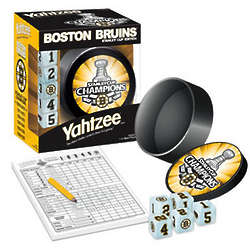 Yahtzee Boston Bruins Stanley Cup Edition