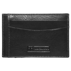 Chesapeake Gusseted Card Case Black