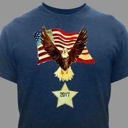 Personalized American Eagle T-Shirt