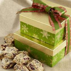 Flakes of Gold Gourmet Cookies Gift Box