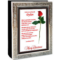 Romantic Christmas Poem and Photo Album