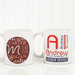 Personally Yours Personalized Coffee Mug