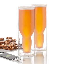 Australian Beer Glass Set and Bottle Opener