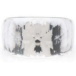 Swarovski Silver-Plated Petite Nirvana Crystal Ring