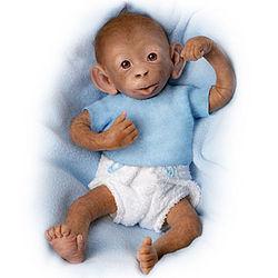 Bobo Baby Monkey Doll