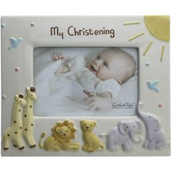 My Christening Baby Animals Photo Frame