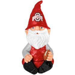 Ohio State Buckeyes Gnome Garden Bobblehead