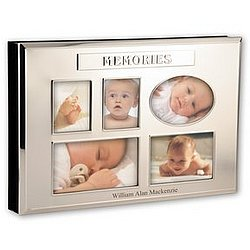 Three-in-One Silver Memories Photo Box