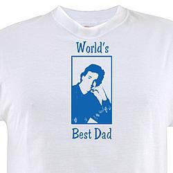 """""""World's Best Dad"""" Danny Tanner Full House T-Shirt"""