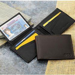 Bi-fold Genuine Leather Wallet