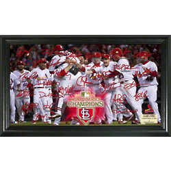 St. Louis Cardinals 2011 World Series Champions Framed Photo