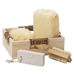 Deluxe Personalized Wooden Spa Set