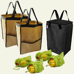 EarthTote Reusable Shopping Bag Starter Set