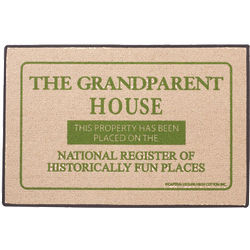 The Grandparent House National Register Doormat