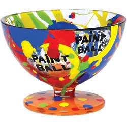 Paint Ball Sundae Bowl