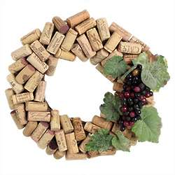 Wine Enthusiast Cork Wreath