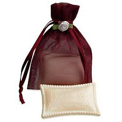 French Pillow Soap in Organza Bag