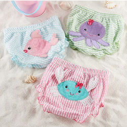Beach Bums Baby Girl Bloomers Set
