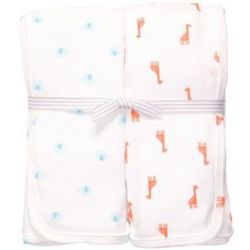 Animal Pals 2-Pack Swaddle Blankets