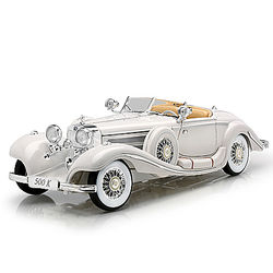 1:18 Scale 1936 Mercedes-Benz 500K Special Roadster Diecast Car