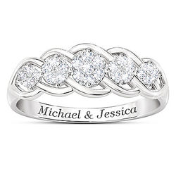 Love of a Lifetime Women's Personalized Diamond Anniversary Ring