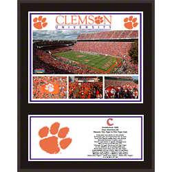 Clemson Tigers Plaque