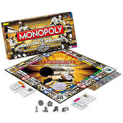 Monopoly Boston Bruins Stanley Cup Edition
