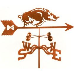 Arkansas Razorbacks Weathervane