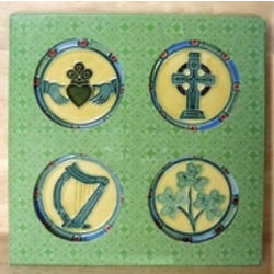 Emblems of Ireland Coasters