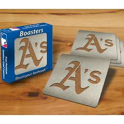 Oakland Athletics Boaster Coasters