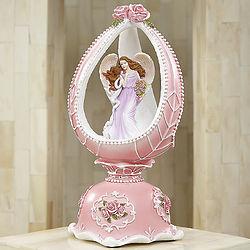 Musical Pink Angel Egg