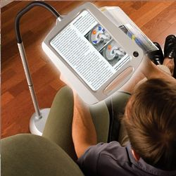 Cordless Wide View Illuminating Magnifier