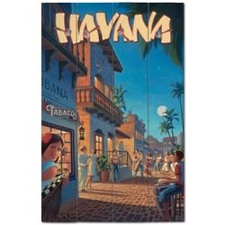 Havana Wood Plank Sign