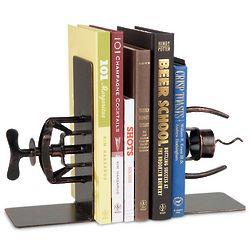 Corkscrew Art Bookends