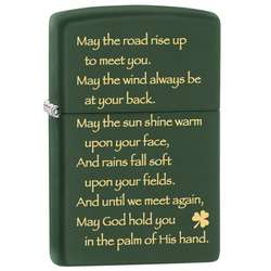 Zippo Irish Blessing Lighter