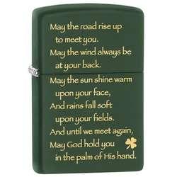 Zippo Irish Blessing Lighter