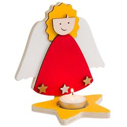 Angel Candle Holders Craft Kit