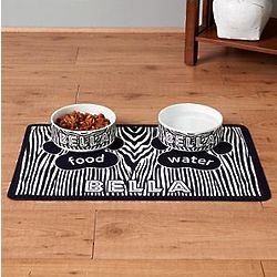 Personalized Gone Wild Pet Bowl or Placemat