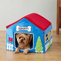 Personalized Plush Picket Fence Pet House