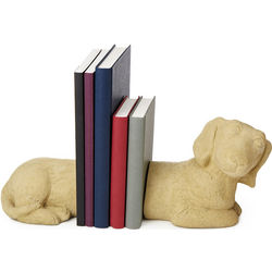 Cast Stone Dachshund Bookends