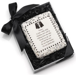 Will You Be My Ring Bearer? Edible Cookie Card