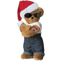"15"" Holiday Hunk Teddy Bear"