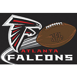 Atlanta Falcons Acrylic Tufted Rug
