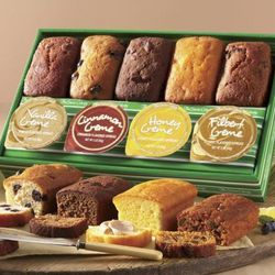 5 Fruit & Nut Breads with 4 Crmes Gift Box