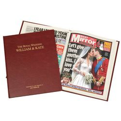 The Royal Wedding: William and Kate Newspaper Book