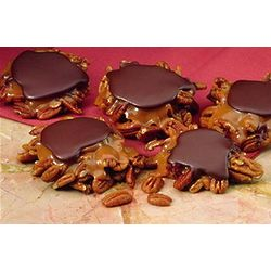 Chocolate, Caramel and Pecan Turtles