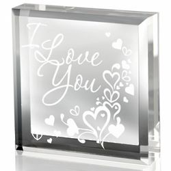 Overflowing Love Keepsake Paperweight