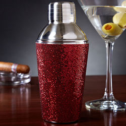 Razzle Dazzle Mini Red Cocktail Shaker