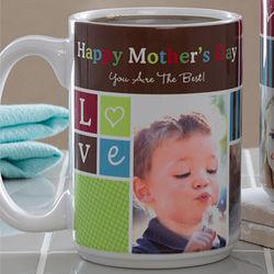 Large Photo Fun Personalized Coffee Mug