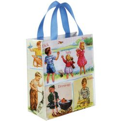 Dick and Jane Illustrated Tote